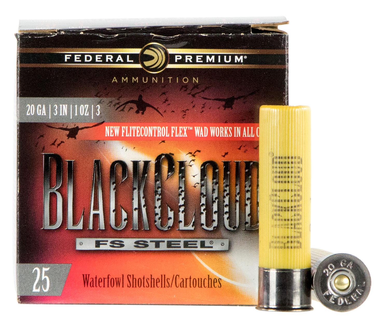Federal PWBX2093 Black Cloud FS Steel  20 Gauge 3