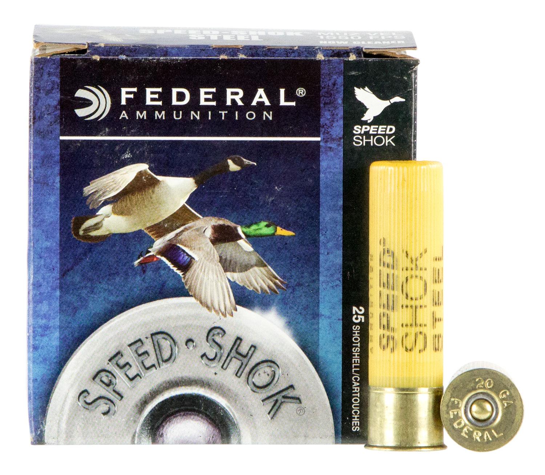 Federal WF2092 Speed-Shok Waterfowl  20 Gauge 3