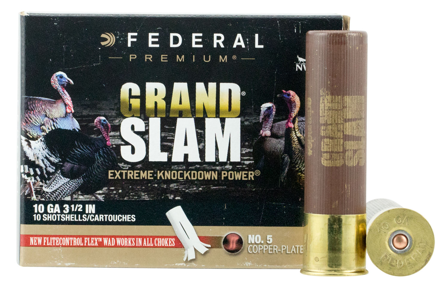 Federal PFCX101F5 Grand Slam Turkey  10 Gauge 3.5