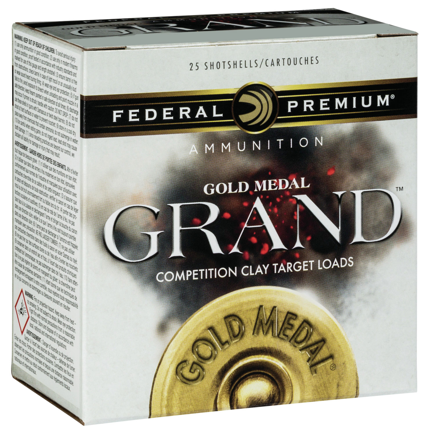 Federal GMT1178 Gold Medal Paper 12 Gauge 2.75