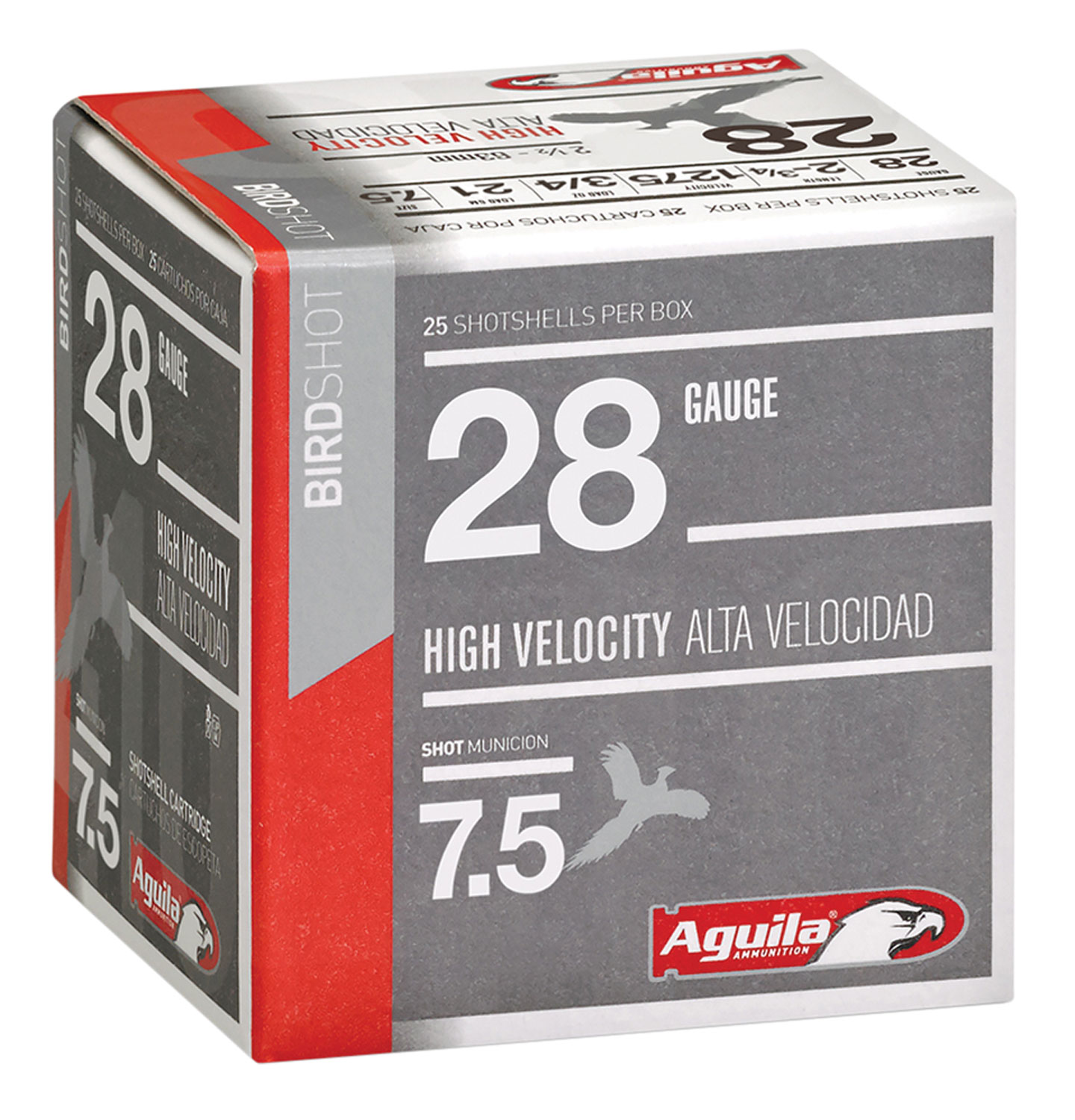 Aguila 1CHB2873 Hunting High Velocity 28 Gauge 2.75