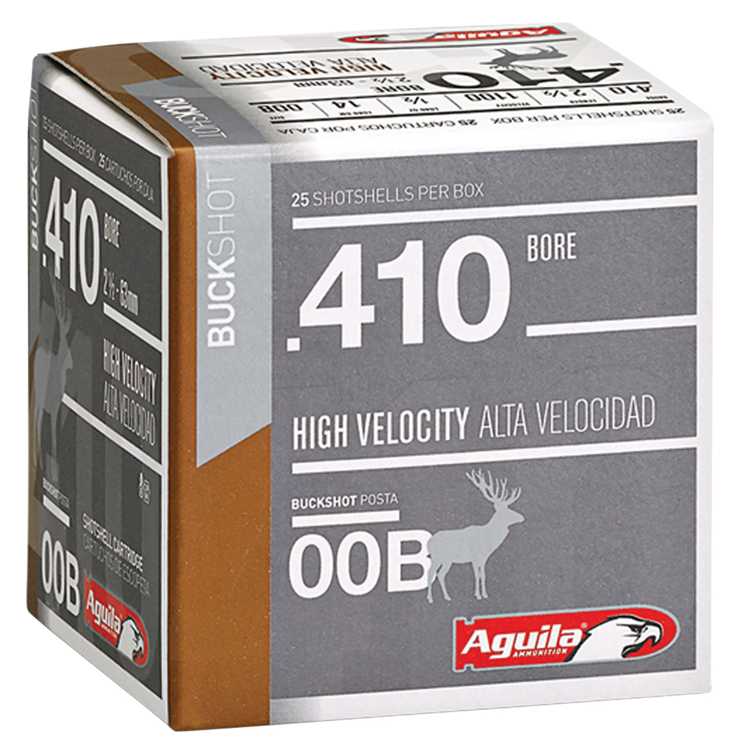 Aguila 1CHB4139 Hunting High Velocity 410 Gauge 2.5