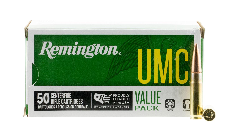 Remington Ammunition L300AAC4V UMC Value Pack 300 AAC Blackout/Whisper (7.62x35mm) 220 GR Open Tip Flat Base 50 Bx/ 8 Cs