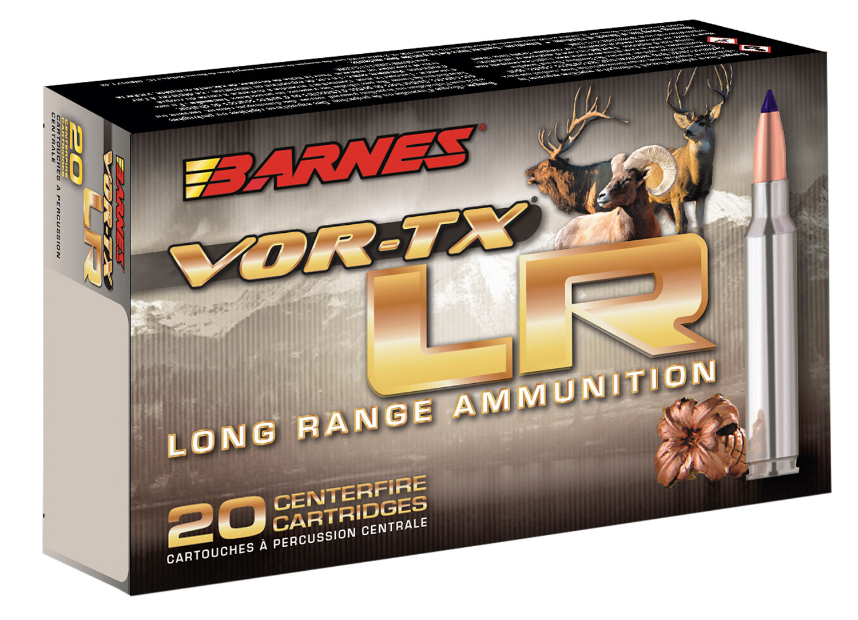 Barnes Bullets 31198 VOR-TX Rifle 270 Winchester 129 GR LRX Boat Tail 20 Bx/ 10 Cs