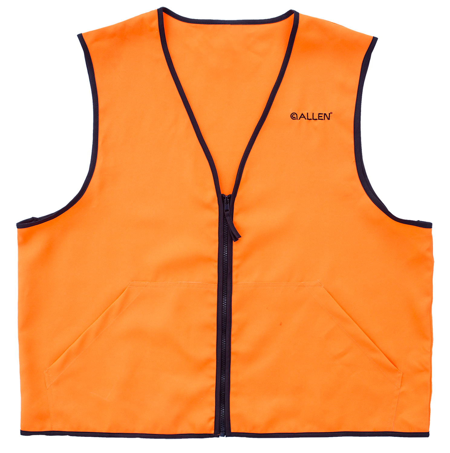 Allen 15768 Deluxe Hunting Vest X-Large Polyester Blaze Orange