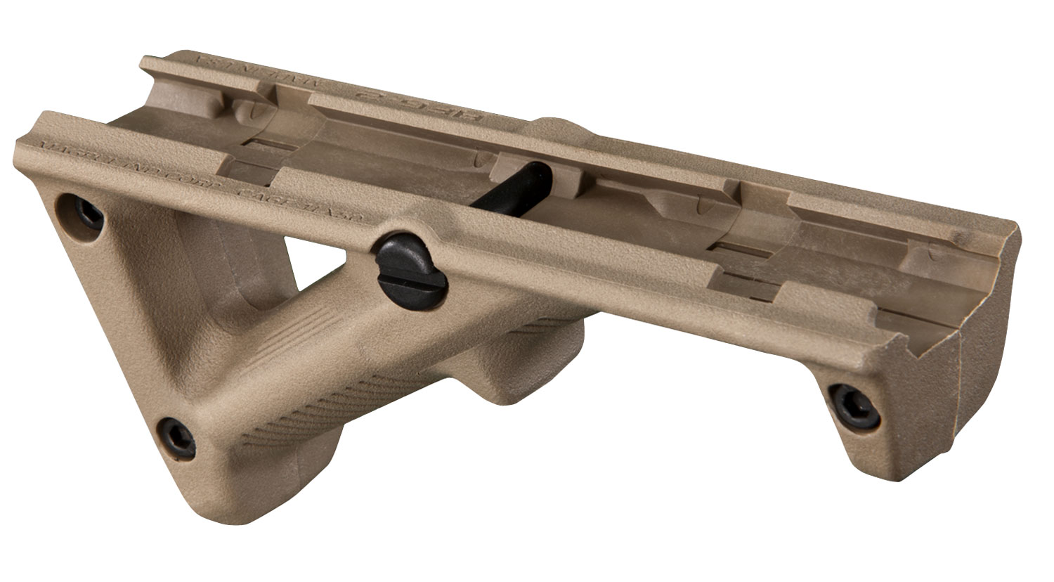 Magpul MAG414-FDE AFG-2  Angled Fore Grip Textured Polymer Flat Dark Earth