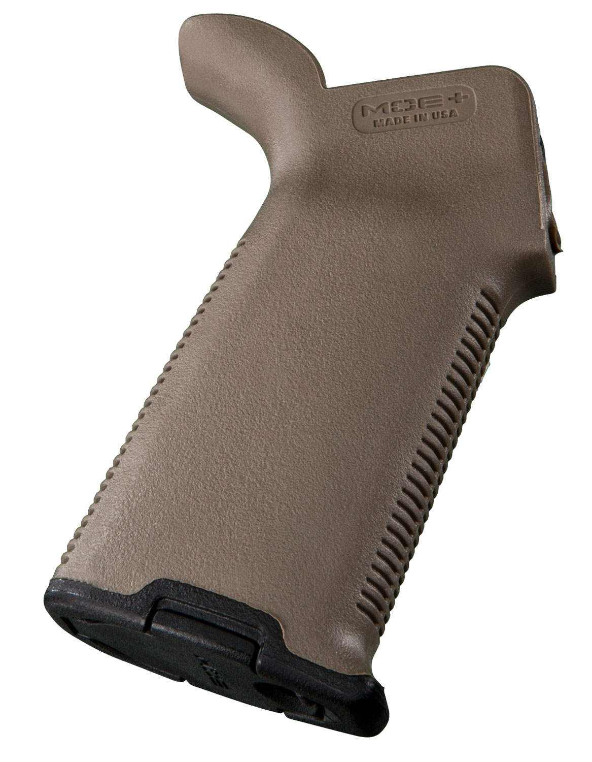 Magpul MAG416-FDE MOE+  Pistol Grip Textured Rubber Overmolded Polymer Flat Dark Earth