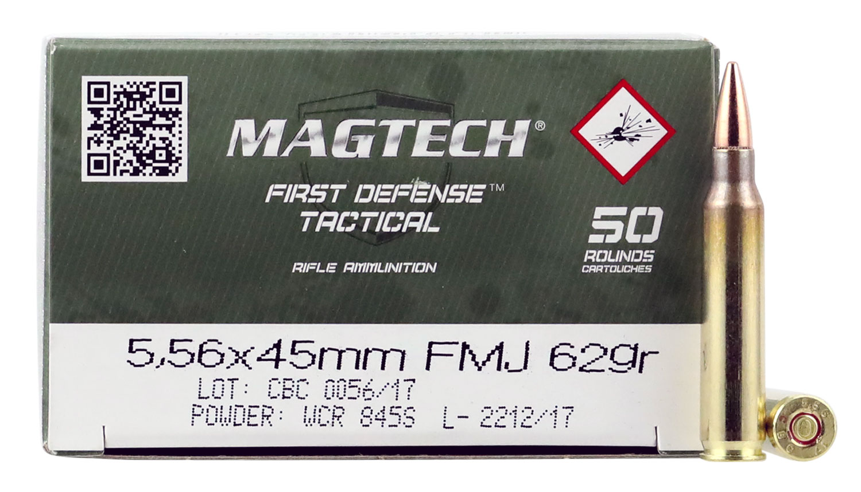 MAGTECH CBC 556NATO 62GR FMJ 50/1000