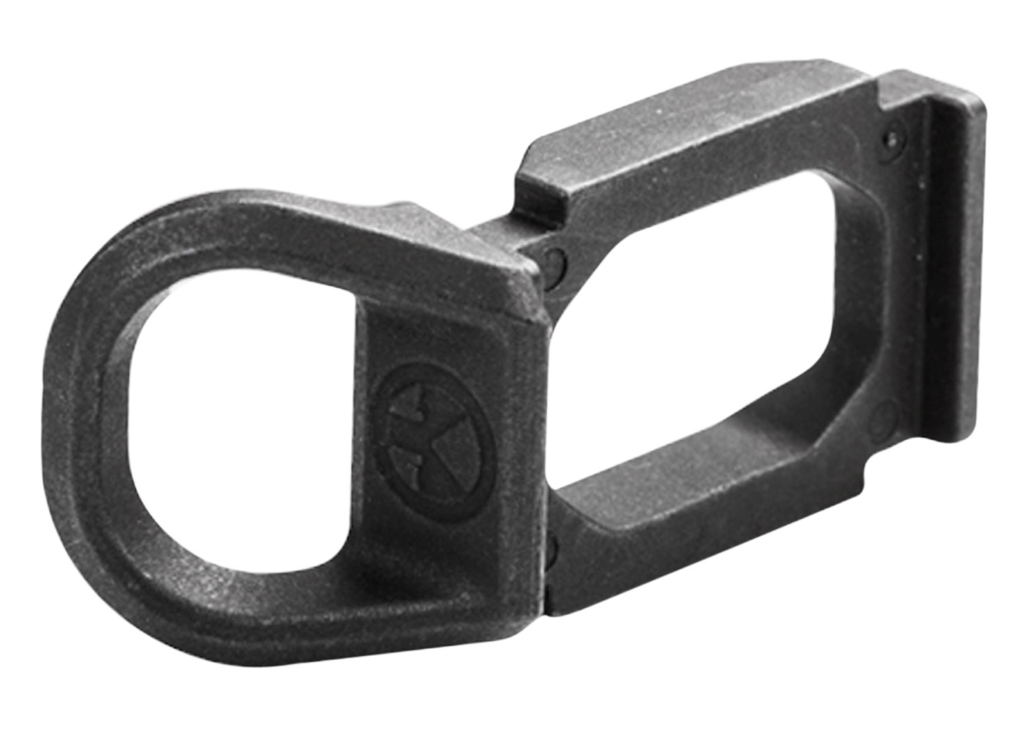 Magpul MAG507-BLK SGA Receiver Sling Mount  Steel Black Melonite
