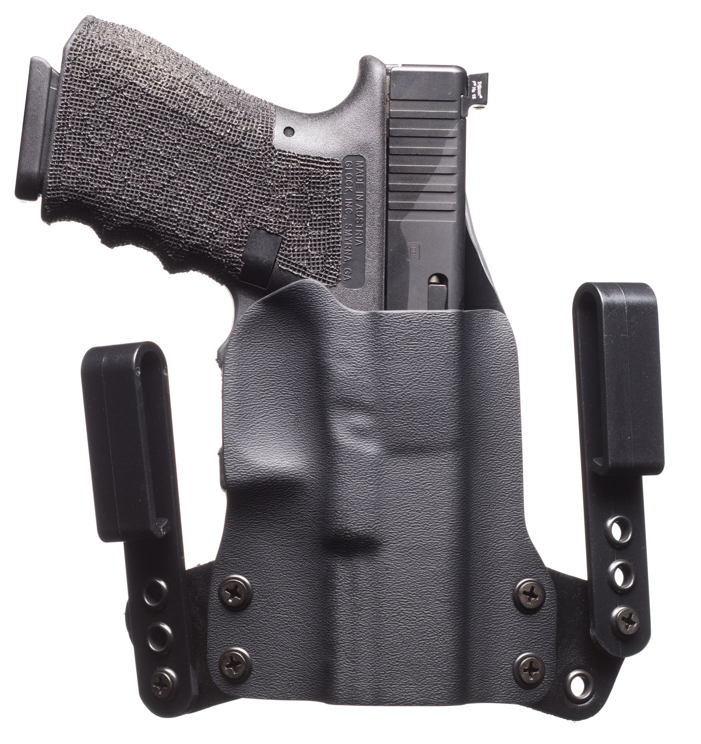 BLK PNT MINI WING S&W SHIELD RH BLK