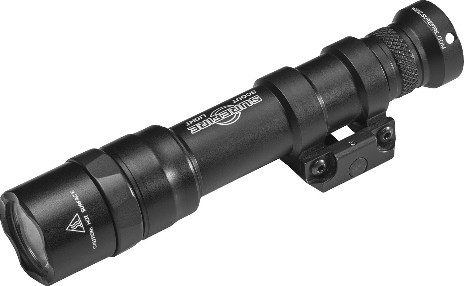 Surefire M600DFBK M600DF Ultra Scout White LED 1500 Lumens Lithium Ion Rechargeable Battery Black Aluminum