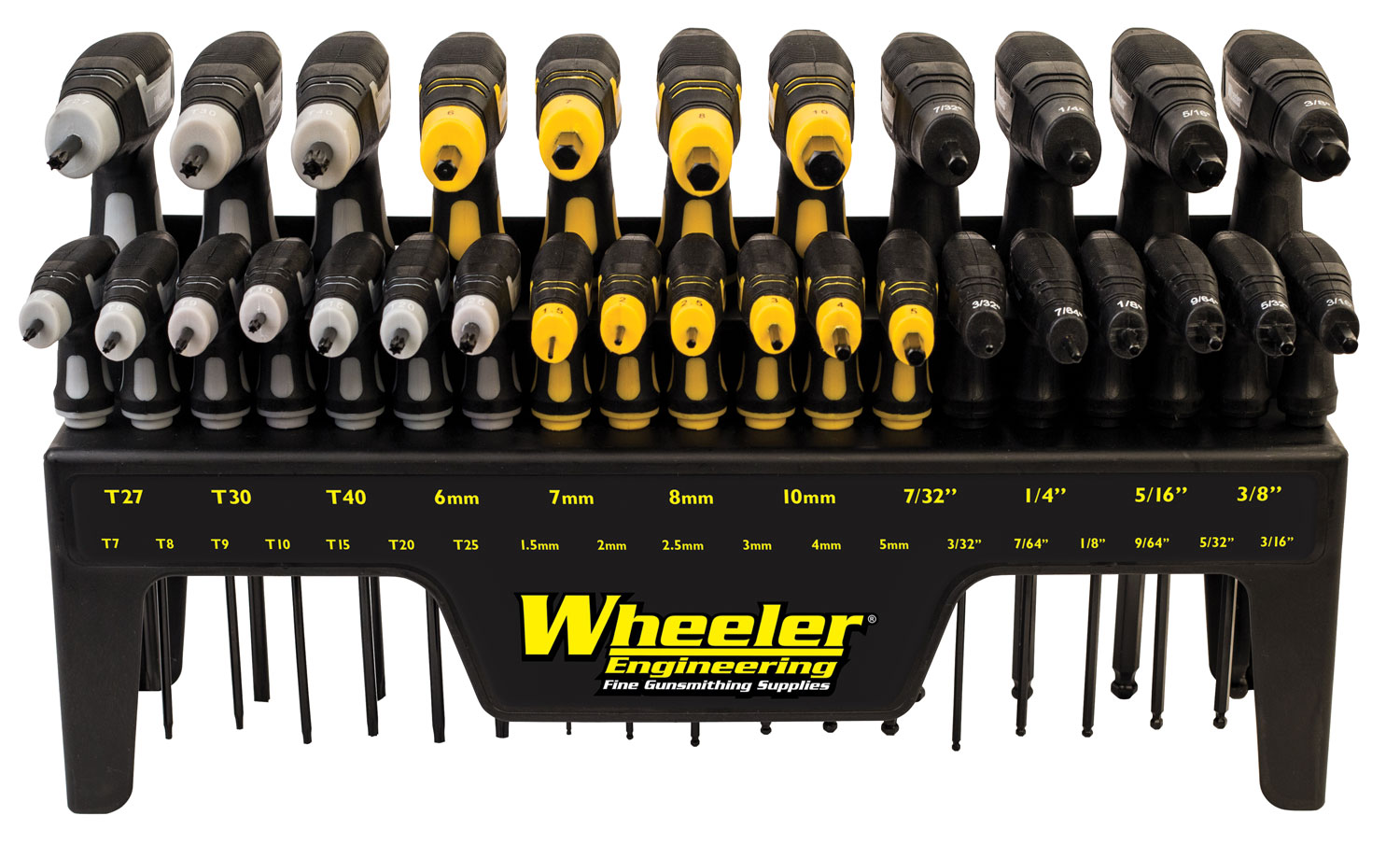 Wheeler 1081957 30 Pc Hex and Torx Set P-Handle Set 0 Pc Hex and Torx Set P-Handle Set