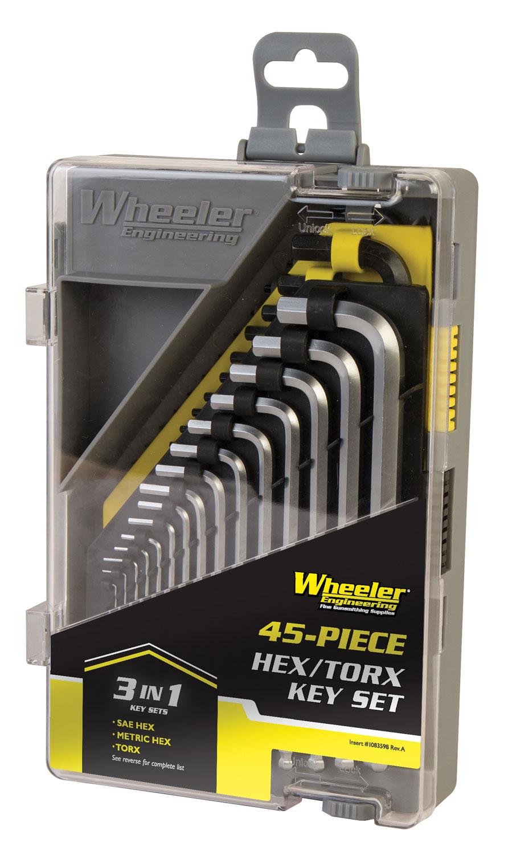 Wheeler 1081959 45 Pc Hex and Torx Set  45 Pc Hex and Torx Set