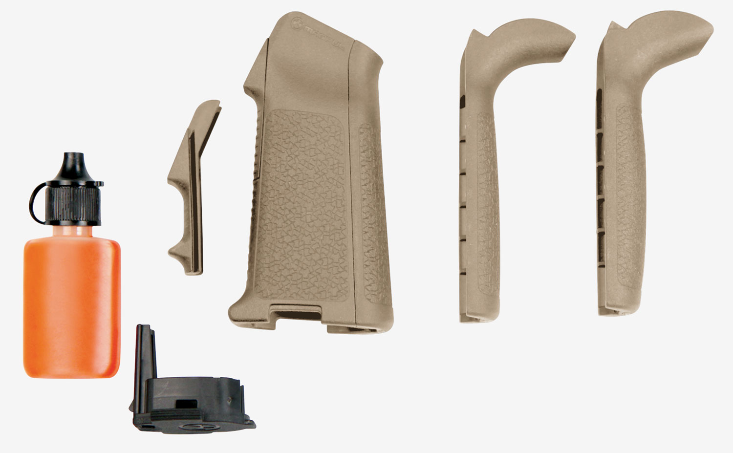 Magpul MAG520-FDE MIAD Gen 1.1 Grip Kit Pistol Grip Aggressive Textured Polymer Flat Dark Earth