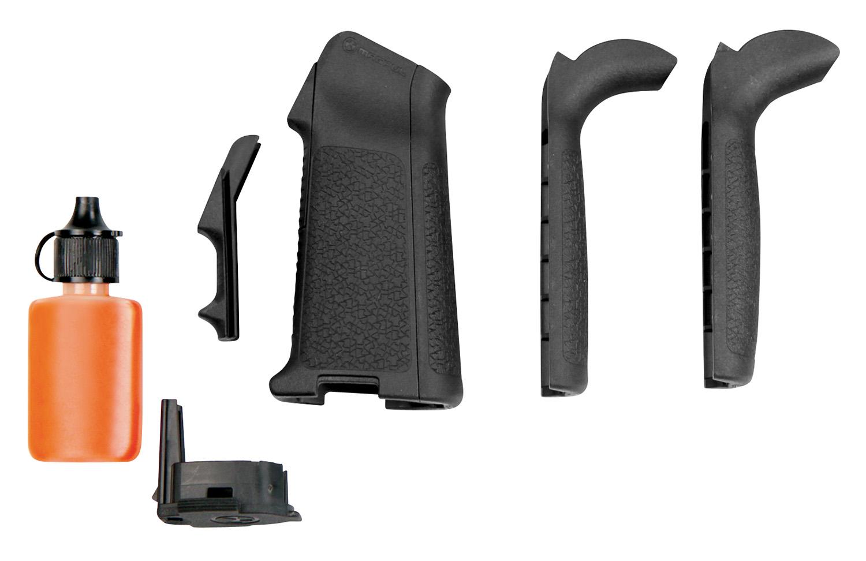 Magpul MAG521-BLK MIAD Type 2 Gen 1.1 Grip Kit Polymer Aggressive Textured Black for AR Platform