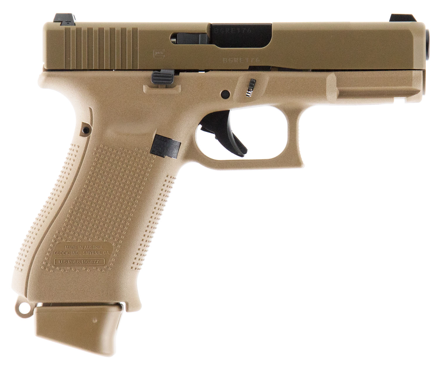 Glock PX1950701 G19X Compact Crossover 9mm Luger 4.02