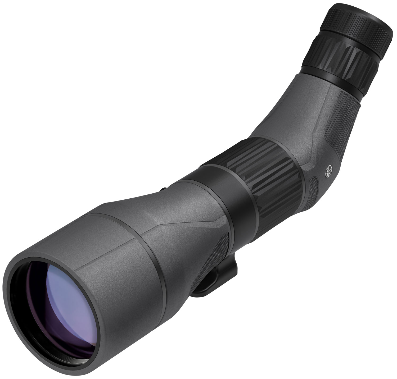 Leupold 175911 SX-5 Santiam HD 27-55x 80mm 105-73 ft @ 1000 yds FOV 19.2-16.6mm Angled Shadow Gray