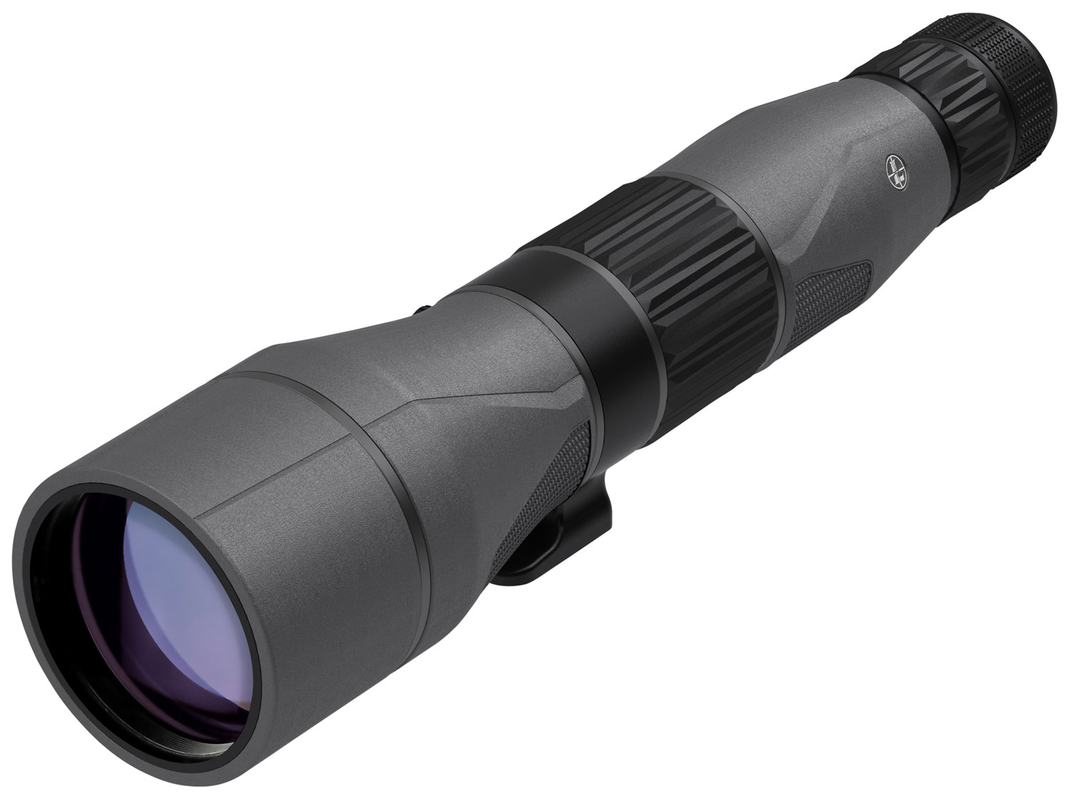 Leupold 175912 SX-5 Santiam HD  27-55x 80mm 105-73 ft @ 1000 yds FOV 19.2-16.6mm Straight Shadow Gray