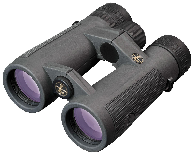 Leupold 174483 BX-5 Santiam HD 10x 42mm 341 ft @ 1000 yds FOV 16.6mm Eye Relief Shadow Gray