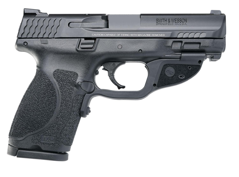 Smith & Wesson 12413 M&P 9 M2.0 Compact Crimson Trace Laserguard 9mm Luger Double 4