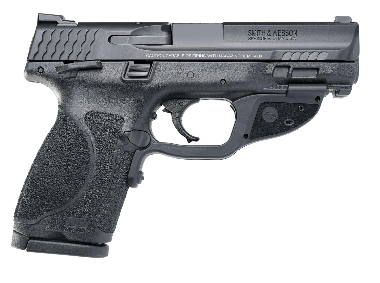 Smith & Wesson 12416 M&P 40 M2.0 Compact Crimson Trace Laserguard 40 Smith & Wesson (S&W) Double 4