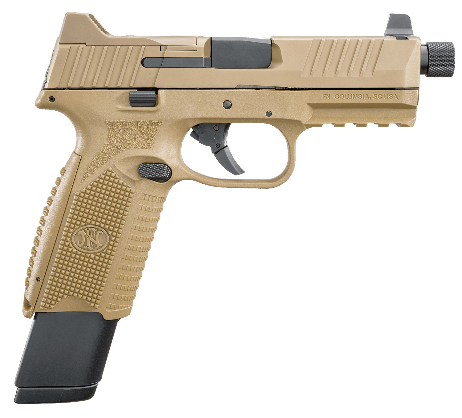 FN 66100373 FN 509 Tactical 9mm Luger Double 4.5