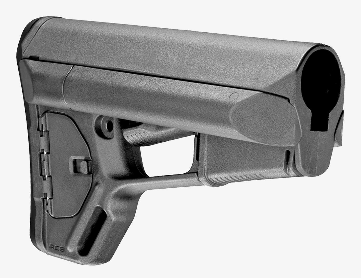 Magpul MAG370-GRY ACS Carbine Stock Stealth Gray Synthetic for AR-15, M16, M4 Mil-Spec Tube (Tube Not Included)