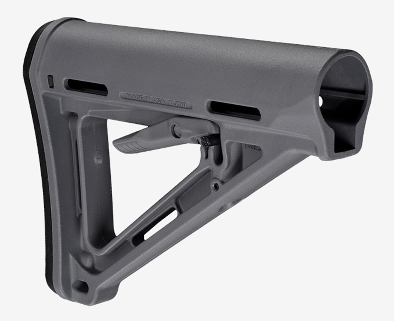 Magpul MAG400-GRY MOE Mil-Spec AR-15 Reinforced Polymer Gray