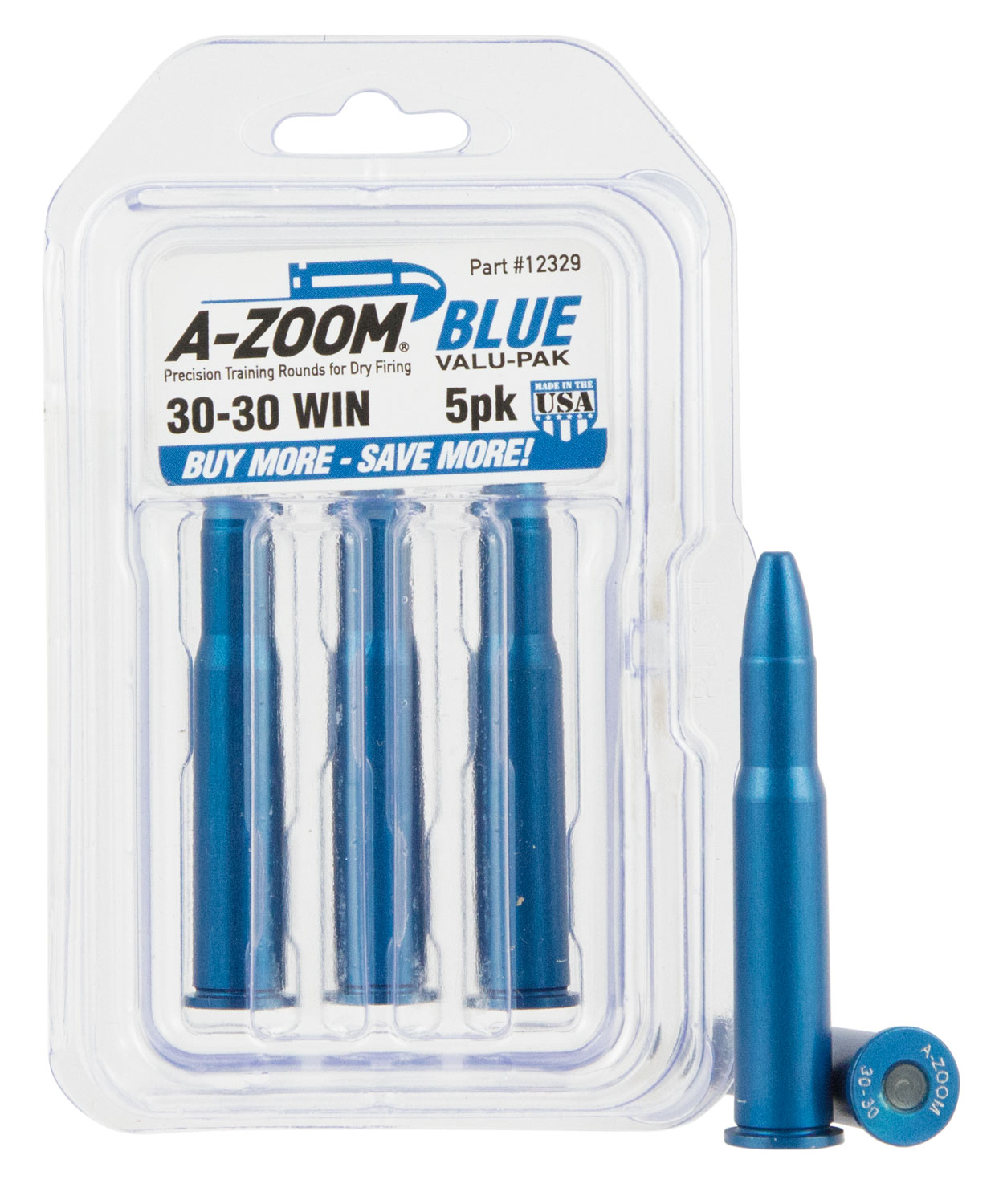 AZOOM SNAP CAPS 3030WIN 5PK BLUE