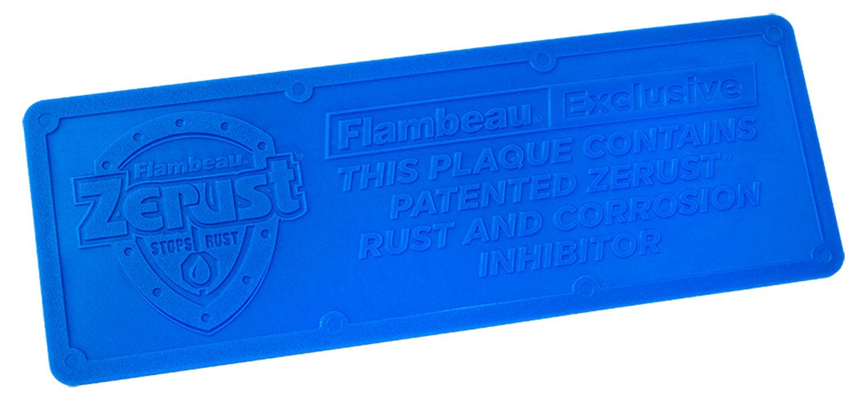 Flambeau 6649ZR Zerust Plaque Anti Rust and Corrosion Plastic