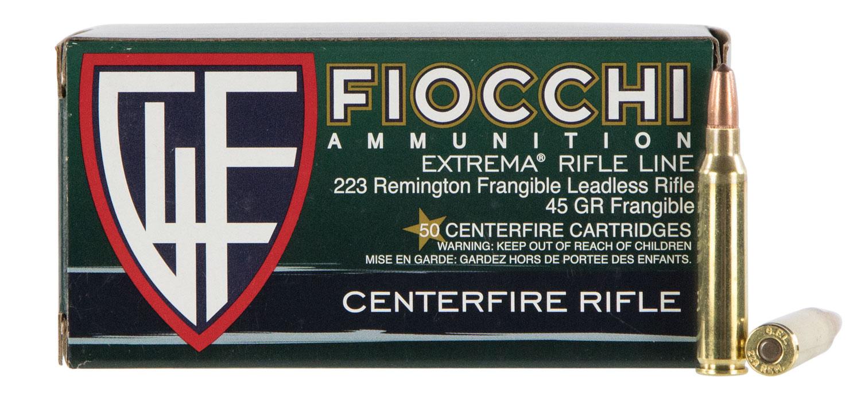 FIOCCHI 223REM 45GR FRANG 50/1000