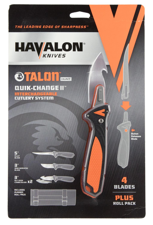 Havalon XTC-TH Talon Hunt  Knife AUS-8 Stainless Steel