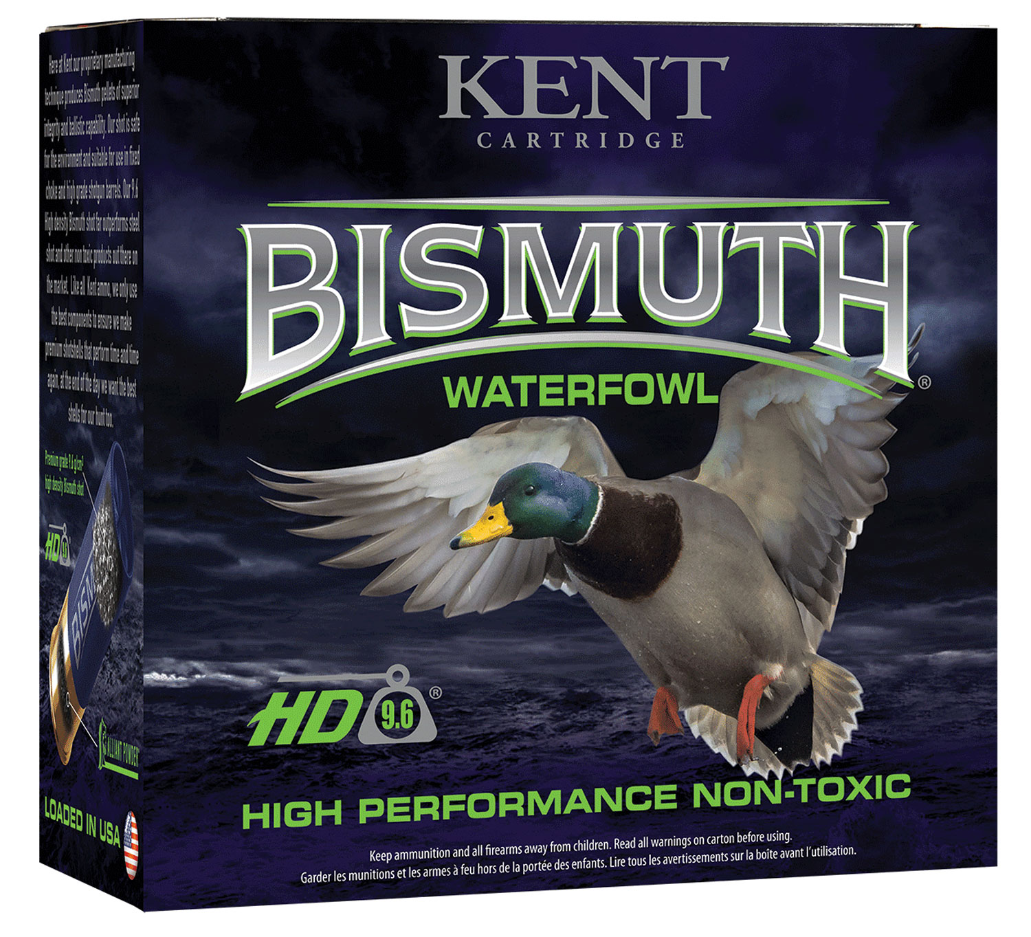 Kent Cartridge B123W40BB Bismuth High Performance Waterfowl 12 Gauge 3