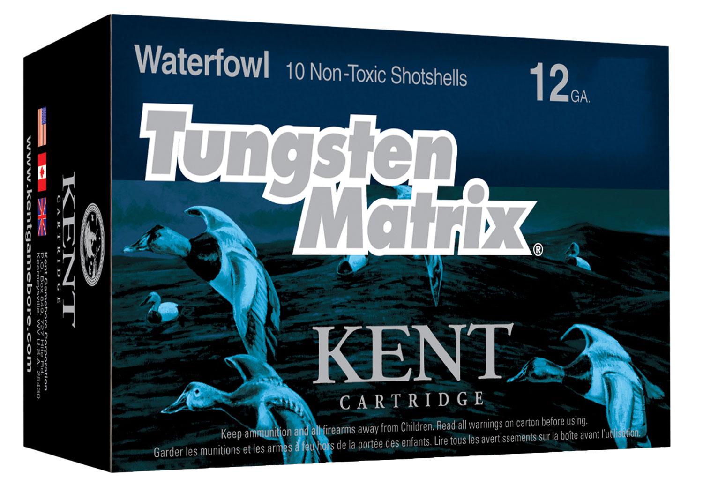 Kent Cartridge C122NT363 Tungsten Matrix Waterfowl 12 Gauge 2.75