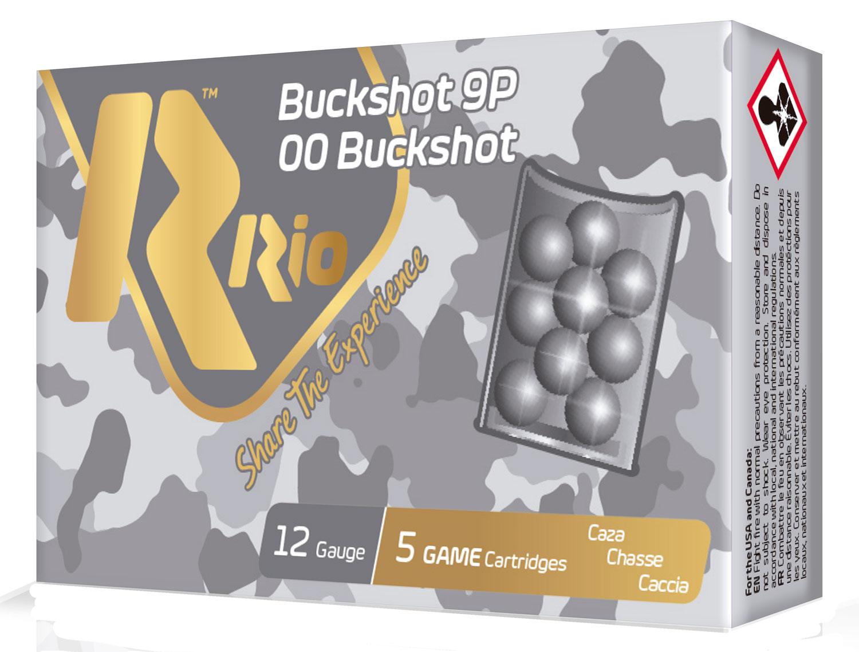 RIO AMMUNITION RB129 Royal Buck  12 Gauge 2.75