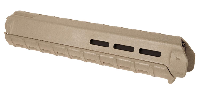Magpul MAG427-FDE MOE M-LOK Rifle-Length Hand Guard AR15/M16 Polymer/Aluminum Flat Dark Earth