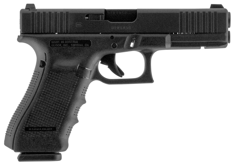 Glock PG1750733FS G17 Gen4 FS 9mm Luger Double 4.48