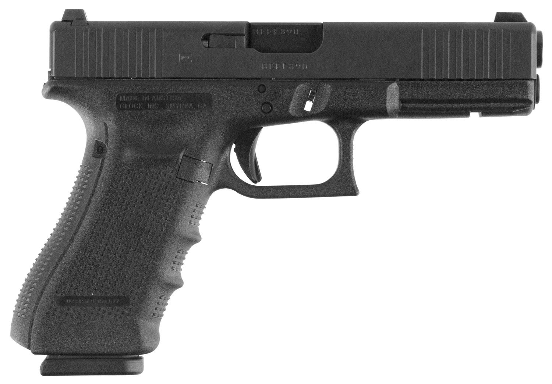 Glock PG1750731FS G17 Gen4 FS 9mm Luger Double 4.48