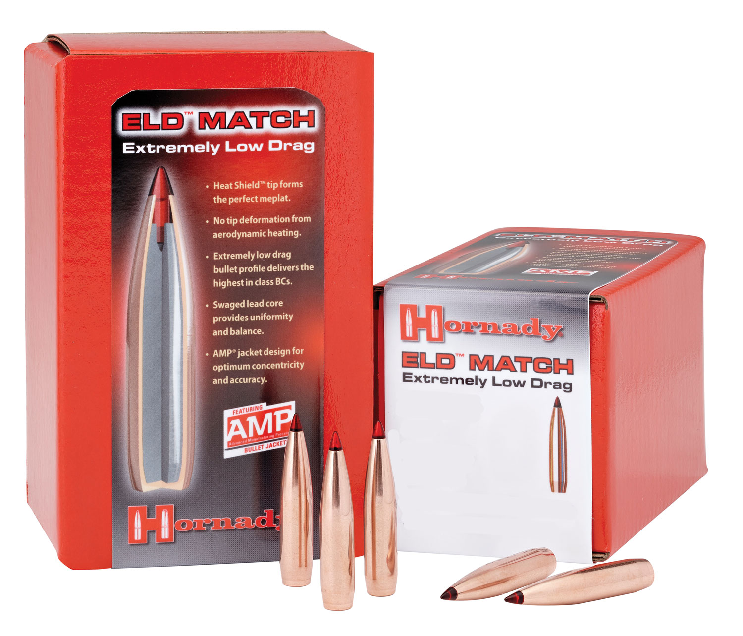Hornady 33381 ELD Match   338 Caliber .338 285 GR 50 Box