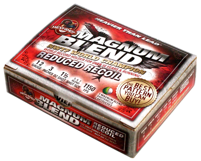 Hevishot 49255 Magnum Blend Reduced Recoil  12 Gauge 3