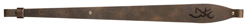 Browning Big Buckmark Gun Sling  <br>  Brown Leather