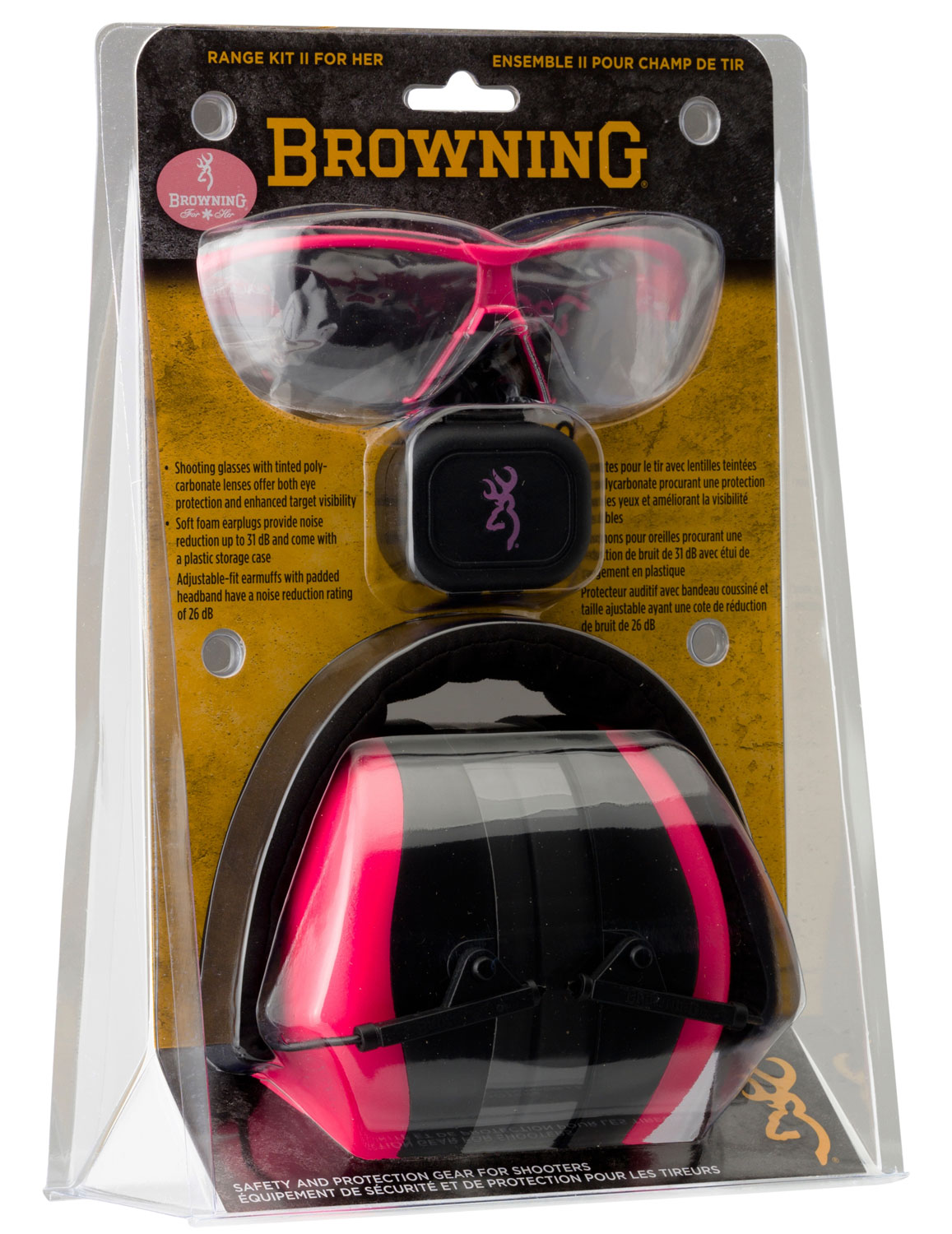 Browning Clear Shooters Flex Shooting Range Glasses 12761