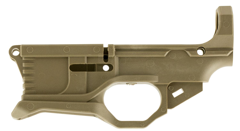 Polymer80 P80RL556V3FD AR-15 80% Lower Receiver Kit Flat Dark Earth Polymer