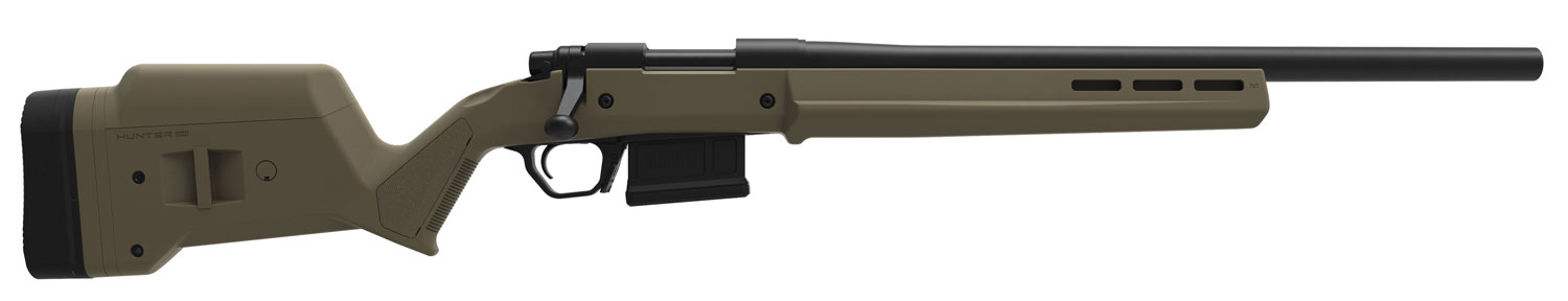 Magpul MAG495-FDE Hunter 700 Short Action Stock Remington 700 Reinforced Polymer/Anodized Aluminum Flat Dark Earth M-LOK slots