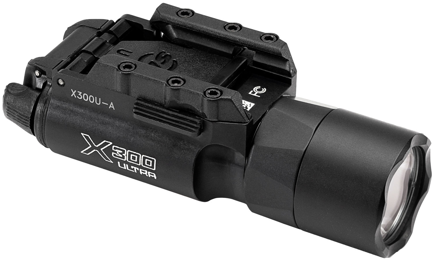 Surefire X300UA X300 Ultra  White LED 1000 Lumens 123A Lithium (2) Battery Black Aluminum