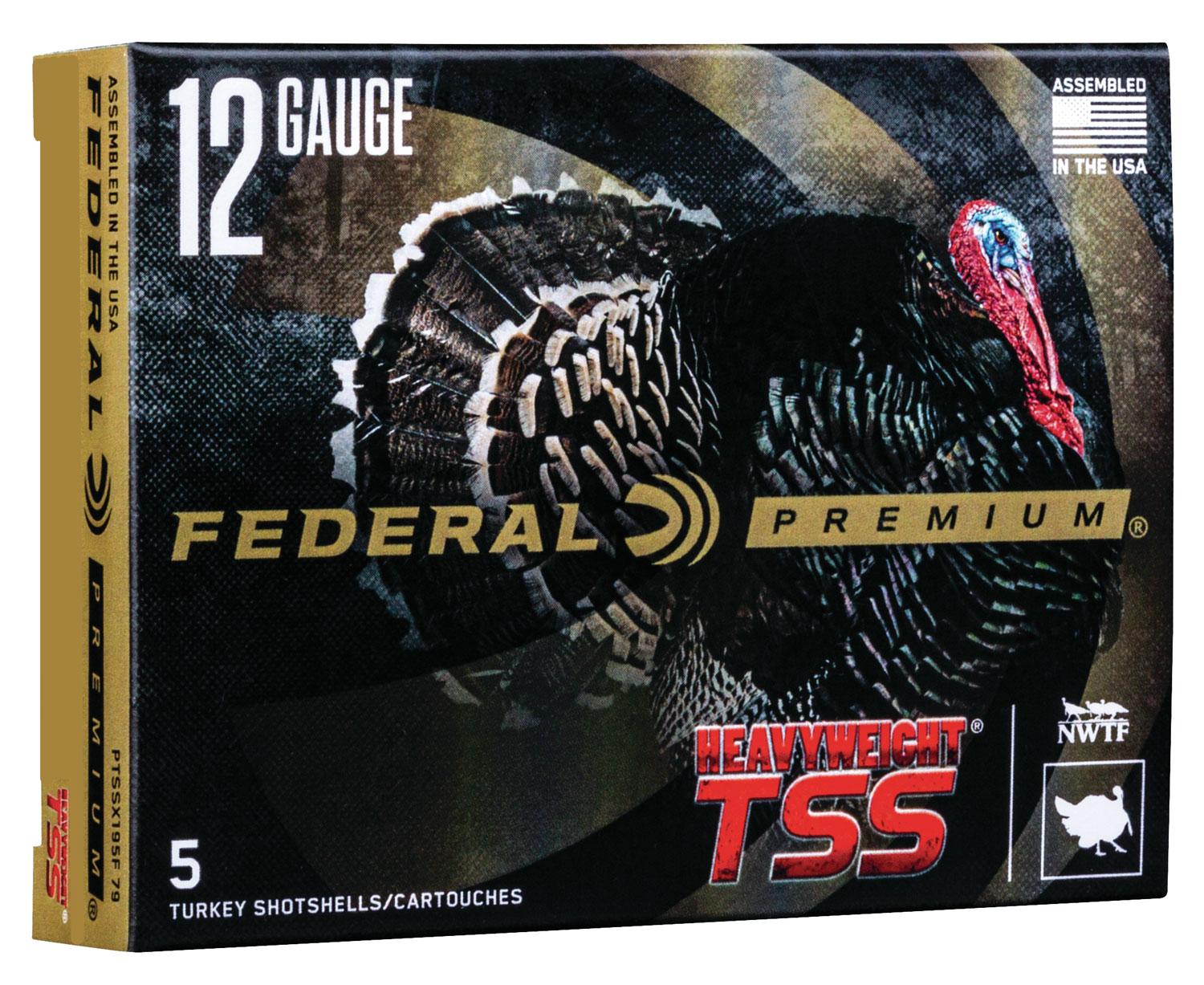 Federal PTSSX195F810 Premium Turkey  12 Gauge 3.5