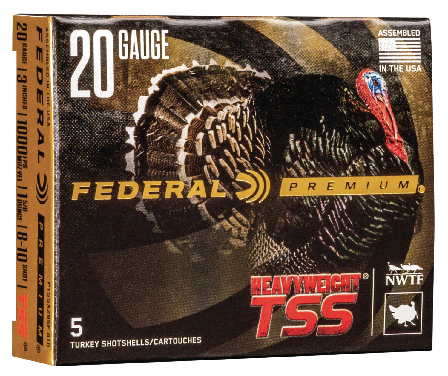 Federal PTSSX295F810 Premium Turkey 20 Gauge 3.5