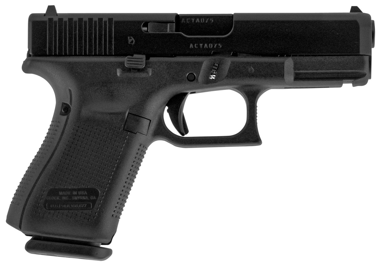 Glock UA1950203 G19 Gen5  9mm Luger Double 4.02