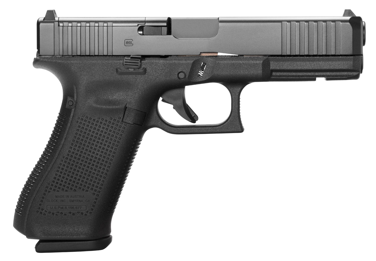 Glock PA175S203MOS G17 Gen 5 MOS FS  9mm Luger Double 4.49