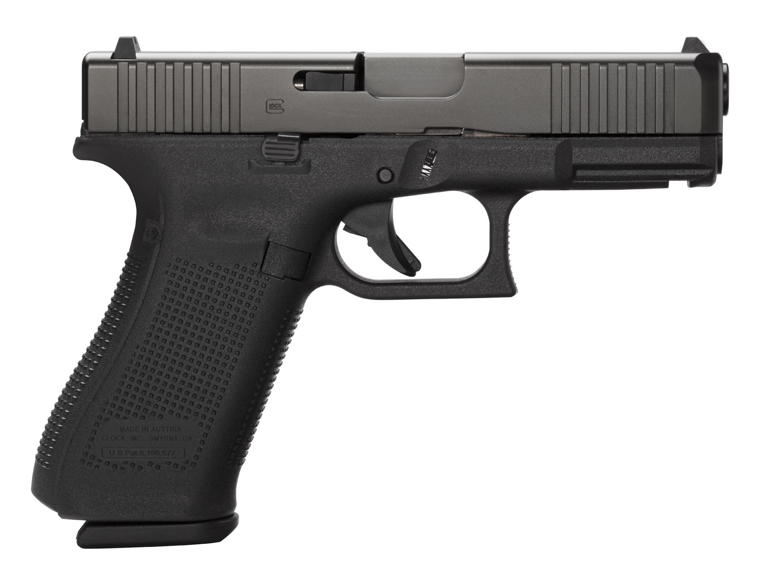 Glock PA455S203 G45 Compact FS  9mm Luger Double 4.02